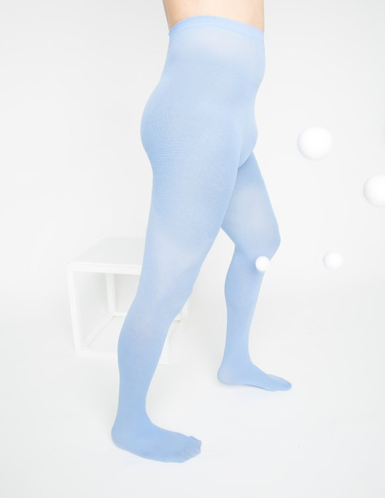 Baby Blue Nylon Tights Style# 1001 | We Love Colors