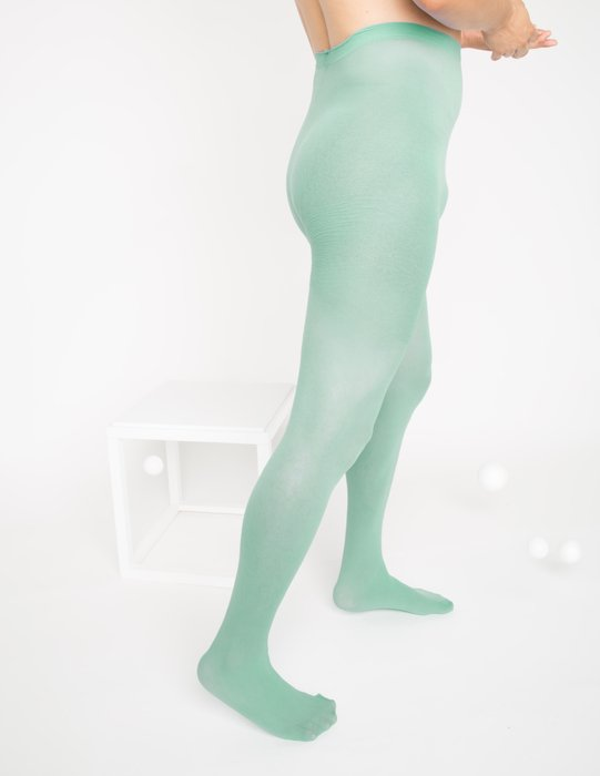 Scout Green Nylon Tights Style# 1001 | We Love Colors