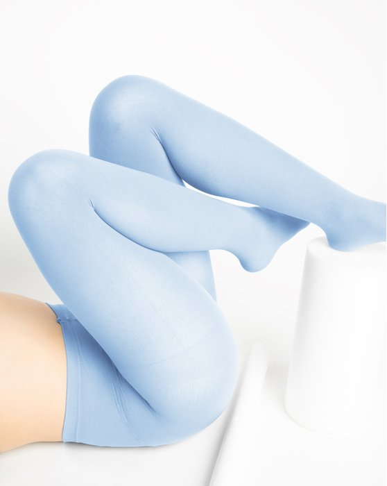 Baby-Blue Womens Nylon Tights Style# 1001 | We Love Colors