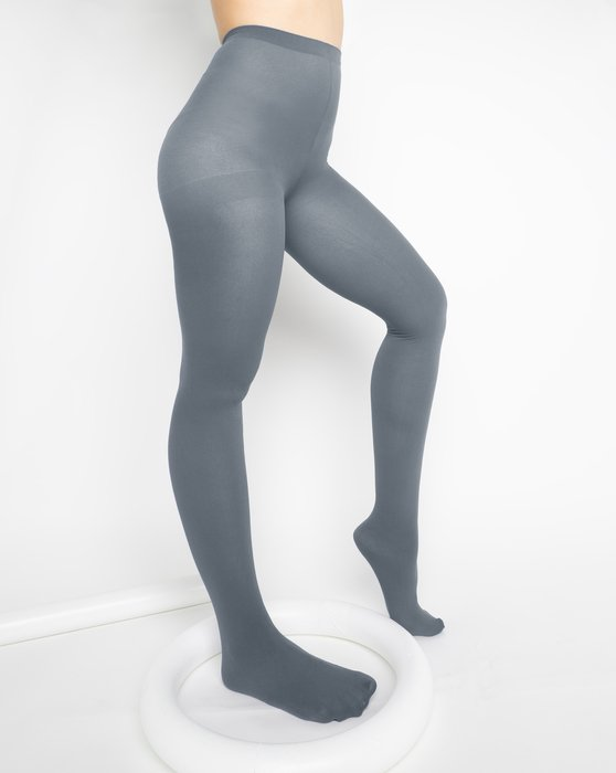 Grey Womens Nylon Tights Style# 1001 | We Love Colors