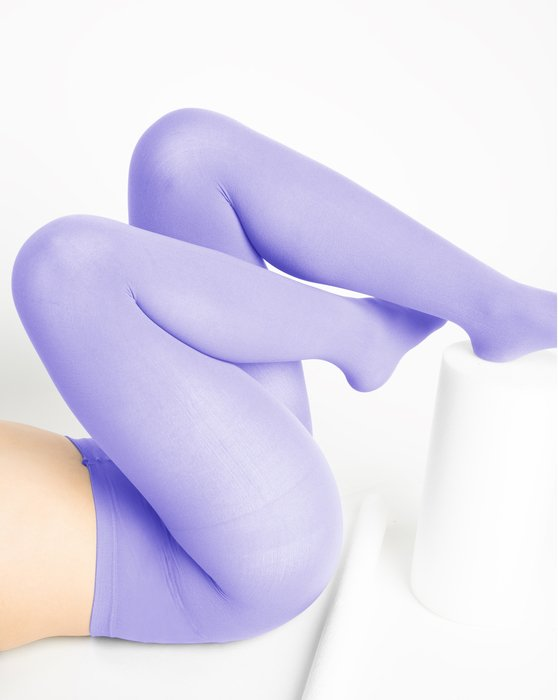 Lilac Nylon Tights Style# 1001 | We Love Colors