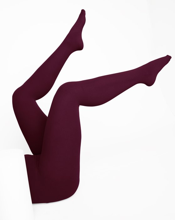 Maroon Womens Nylon Tights Style# 1001 | We Love Colors
