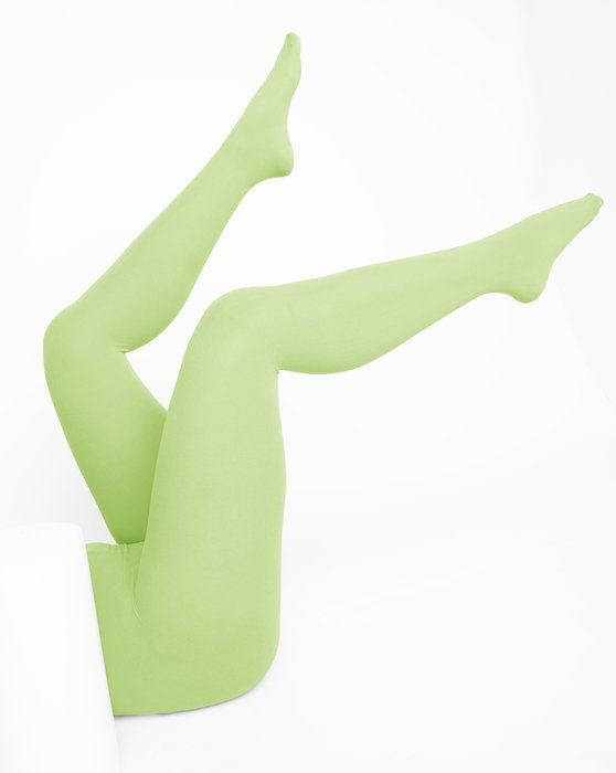 Mint-Green Womens Nylon Tights Style# 1001 | We Love Colors