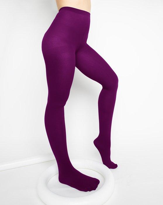 Rubine Nylon Tights Style# 1001 | We Love Colors