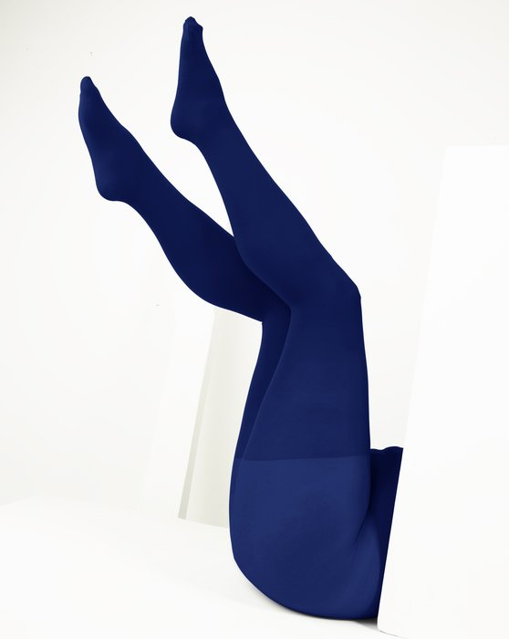 Navy Womens Plus Sized Nylon/Lycra Tights Style# 1008 | We Love Colors