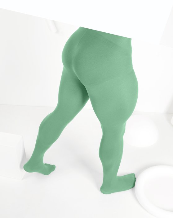Scout-Green Womens Nylon Spandex Tights Style# 1023 | We Love Colors