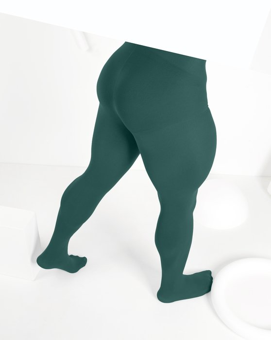 Spruce-Green Womens Nylon Spandex Tights Style# 1023 | We Love Colors