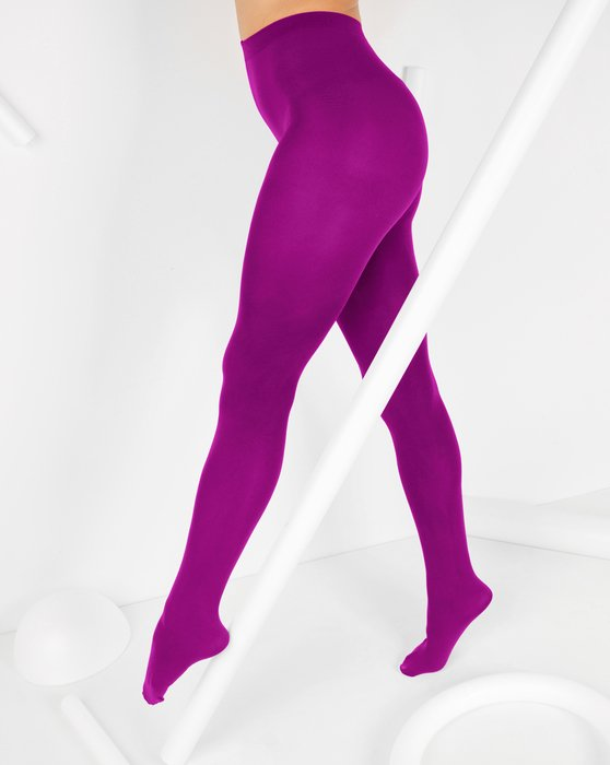 Magenta Nylon Spandex Tights Style# 1023 | We Love Colors