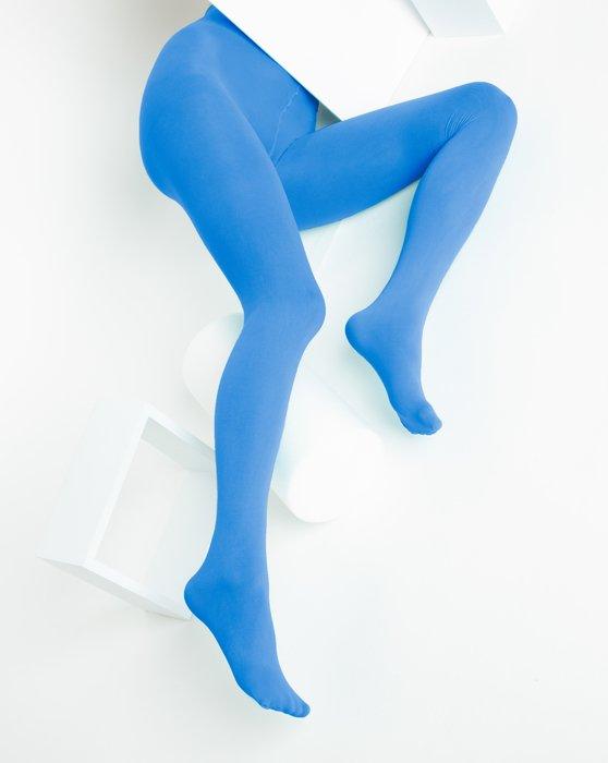 Medium Blue Nylon Spandex Tights Style# 1023 | We Love Colors