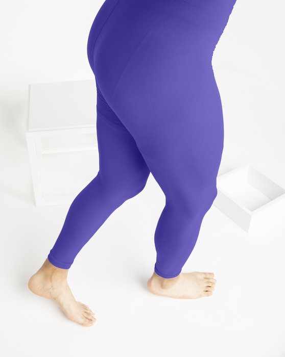 Womens Microfiber Ankle Length Footless Tights Style# 1025 | We Love Colors