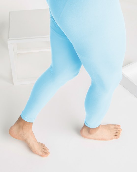 Aqua Womens Microfiber Ankle Length Footless Tights Style# 1025 | We Love Colors