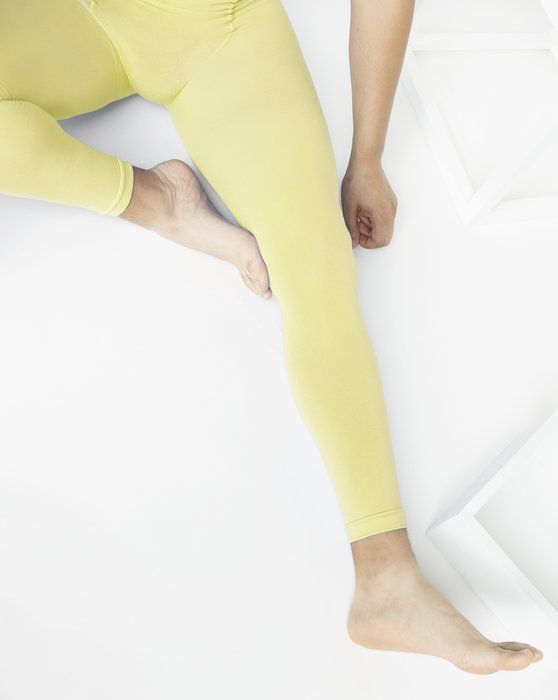 Maize Womens Microfiber Ankle Length Footless Tights Style# 1025 | We Love Colors