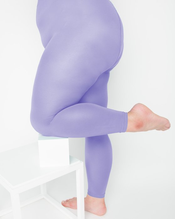 Lilac Womens Microfiber Ankle Length Footless Tights Style# 1025 | We Love Colors