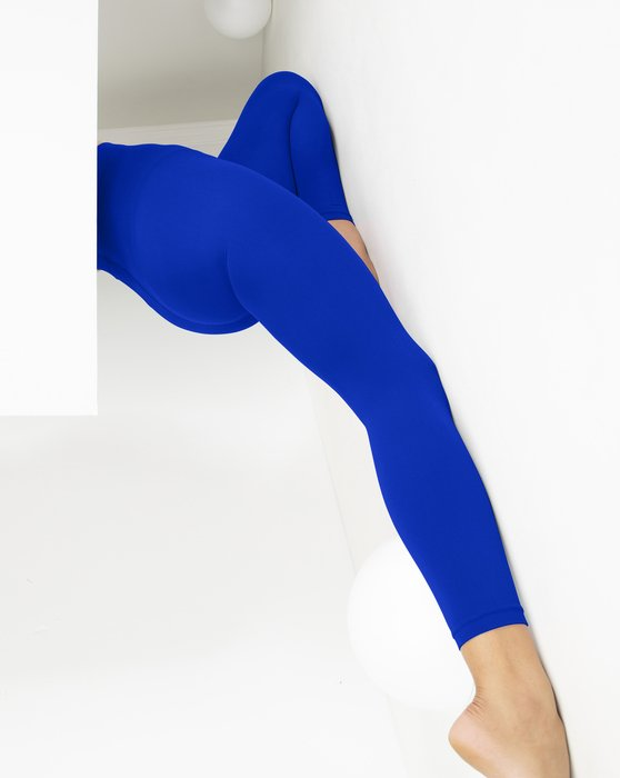 Royal Microfiber Ankle Length Footless Tights Style# 1025 | We Love Colors