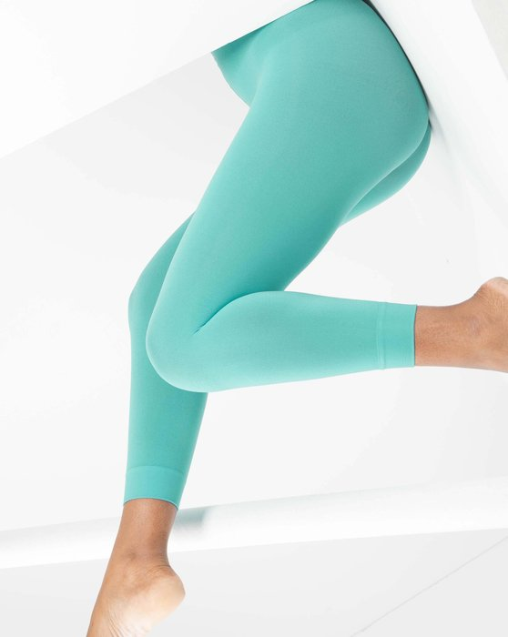 Scout Green Microfiber Footless Tights Style# 1037 | We Love Colors