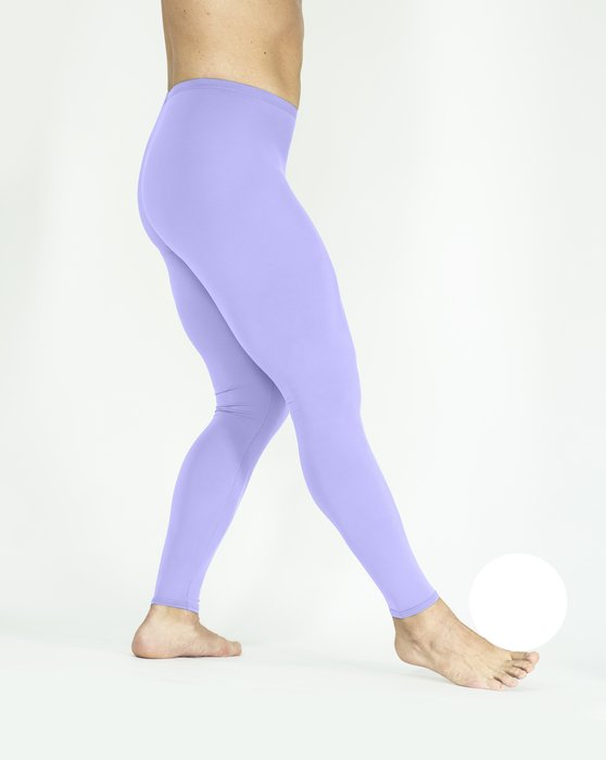 Lilac Footless Performance Tights Leggings Style# 1047 | We Love Colors
