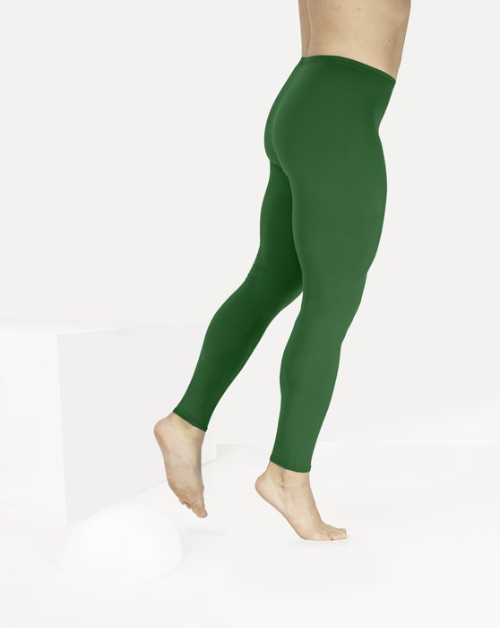 Emerald Footless Performance Tights Leggings Style# 1047 | We Love Colors