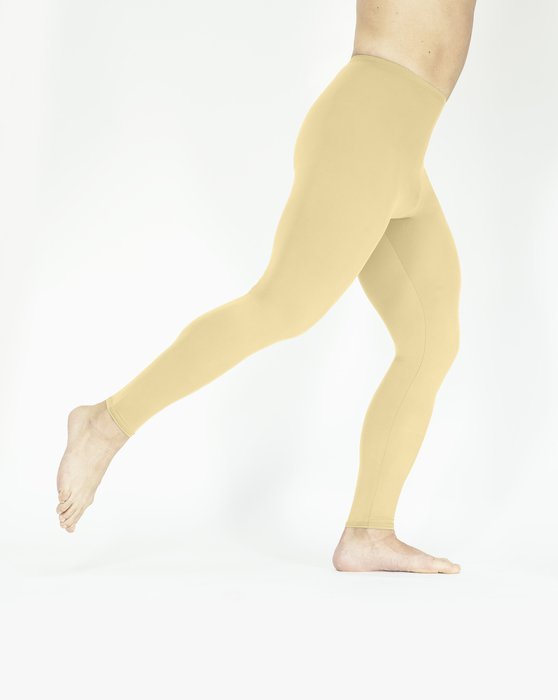Light-Tan Womens Footless Performance Tights Leggings Style# 1047   We Love Colors