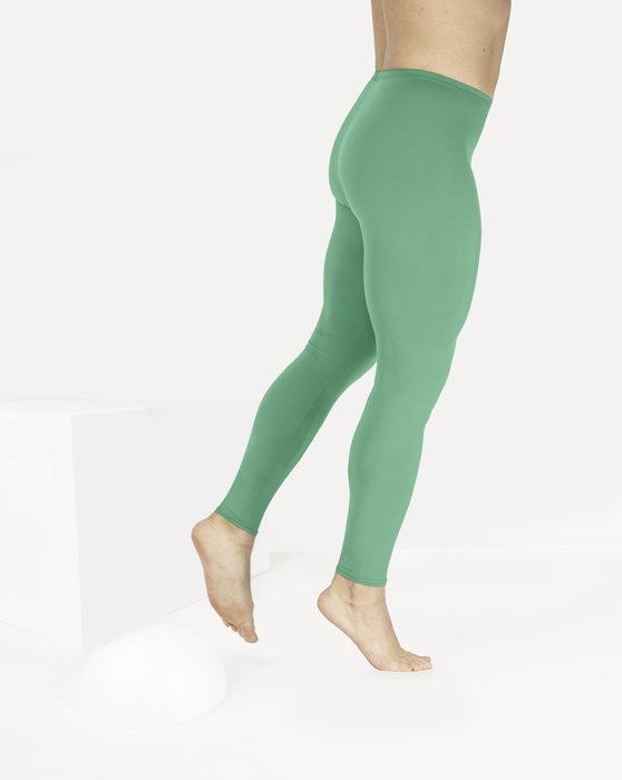 Scout Green Footless Performance Tights Leggings Style# 1047 | We Love Colors