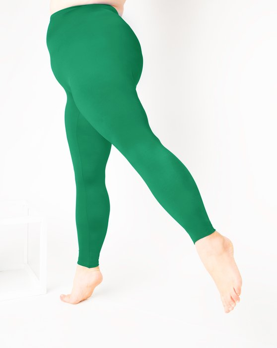 Emerald Womens Footless Performance Tights Leggings Style# 1047 | We Love Colors