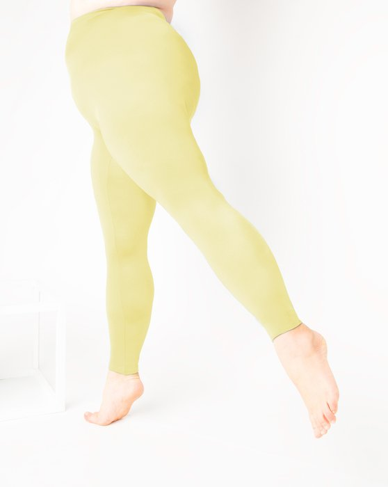 Maize Womens Footless Performance Tights Leggings Style# 1047 | We Love Colors