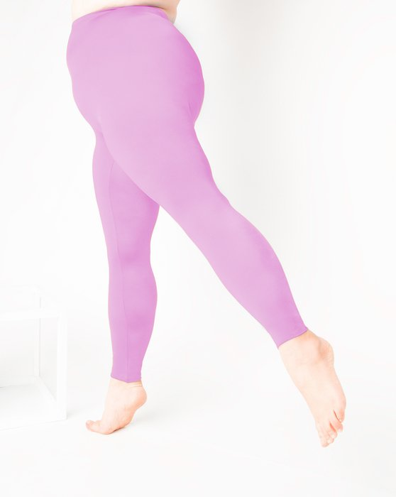 Orchid Pink Footless Performance Tights Leggings Style# 1047 | We Love Colors