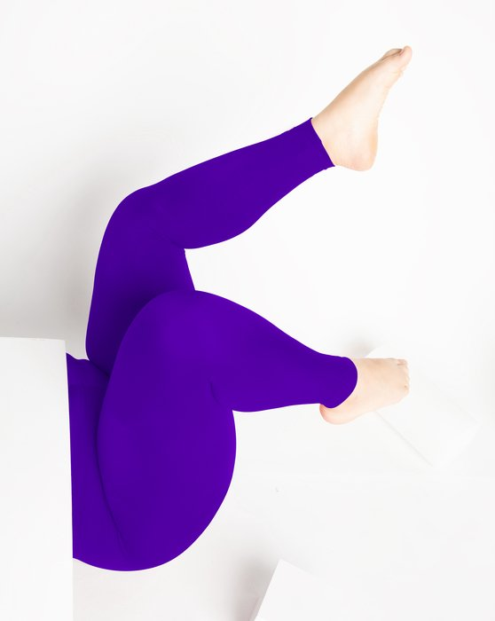 Violet Footless Performance Tights Leggings Style# 1047 | We Love Colors