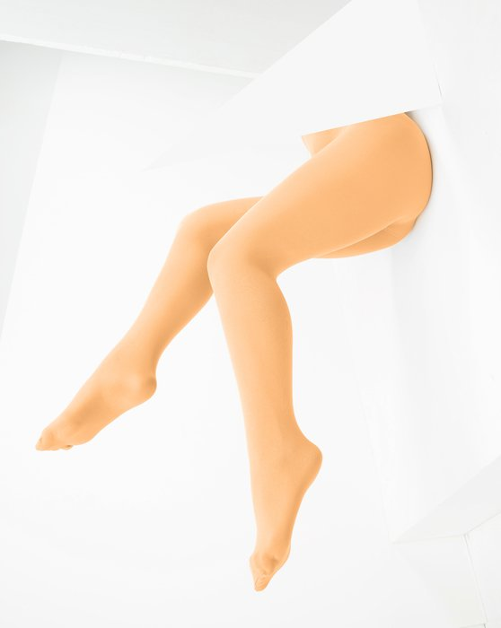 Light Orange Womens Microfiber Nylon/Lycra Tights Style# 1053 | We Love Colors
