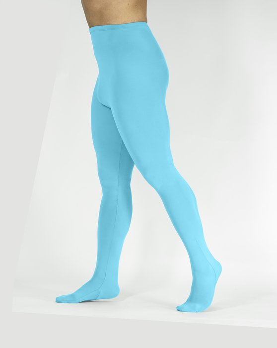 Neon-Blue Womens Performance Tights Style# 1061 | We Love Colors