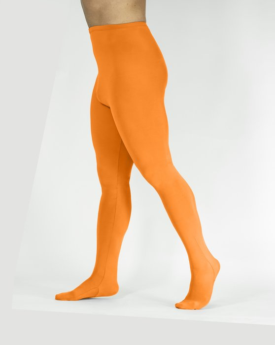 Neon Orange Womens Performance Tights Style# 1061 | We Love Colors