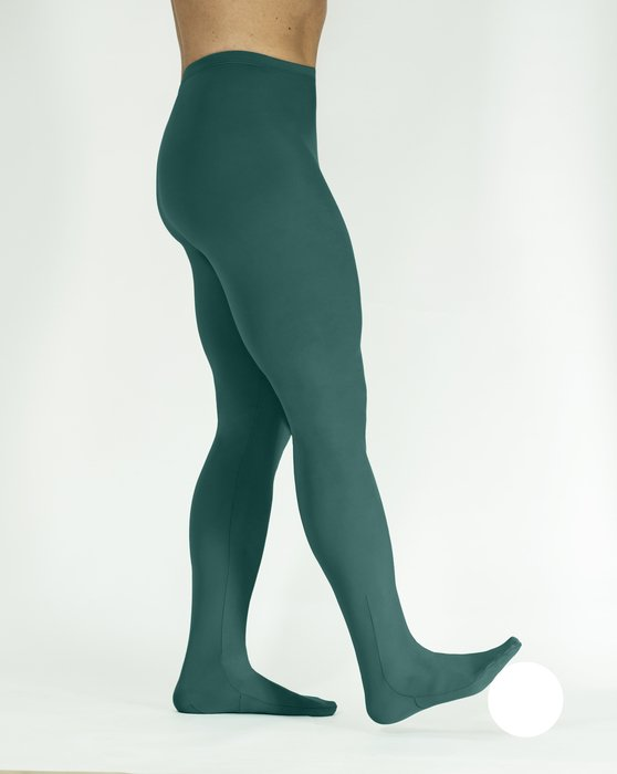 Spruce-Green Performance Tights Style# 1061 | We Love Colors
