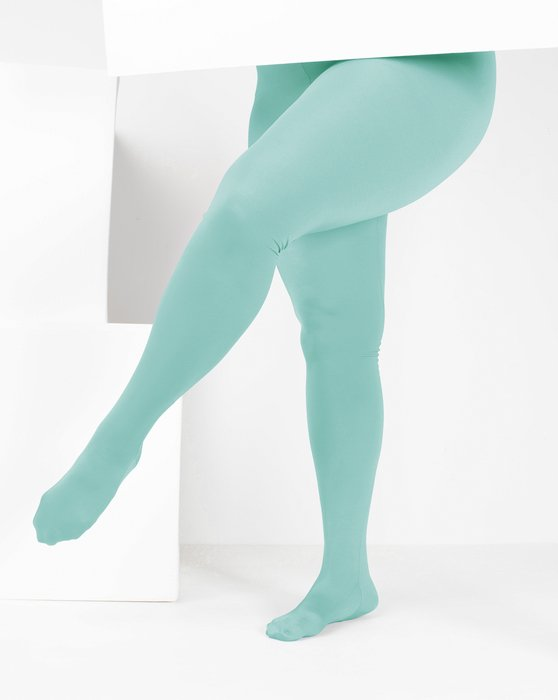 Dusty Green Womens Performance Tights Style# 1061 | We Love Colors