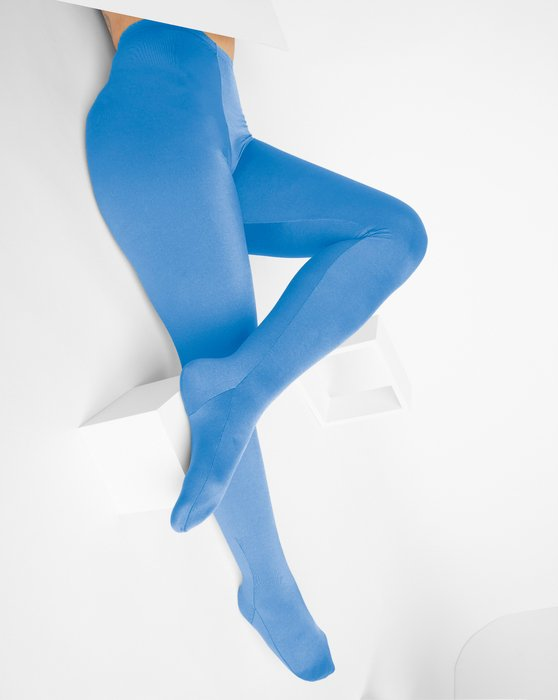 Medium Blue Performance Tights Style# 1061 | We Love Colors