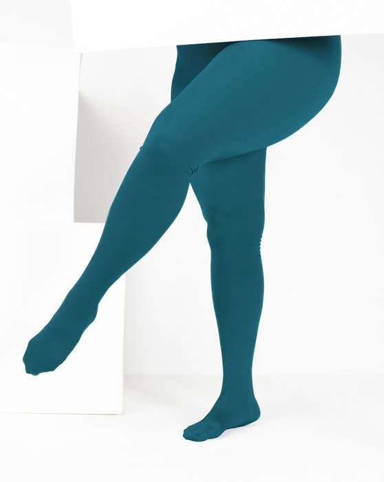 Teal Performance Tights Style# 1061 | We Love Colors