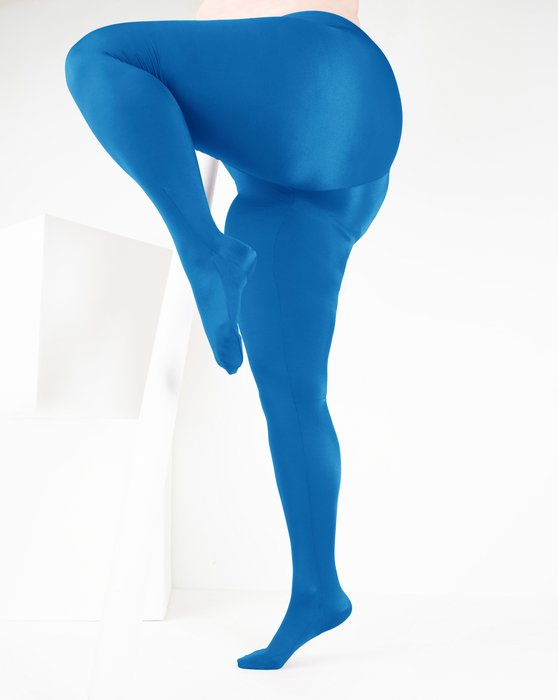 Turquoise Womens Performance Tights Style# 1061 | We Love Colors