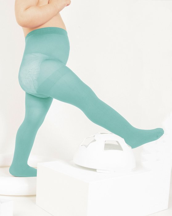 Dusty-Green Kids Nylon / Spandex Tights Style# 1073 | We Love Colors