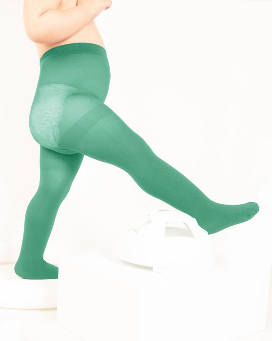 Scout-Green Kids Nylon / Spandex Tights Style# 1073 | We Love Colors