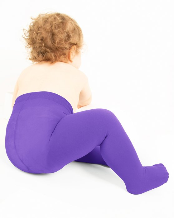Lavender Kids Microfiber Tights Style# 1075 | We Love Colors