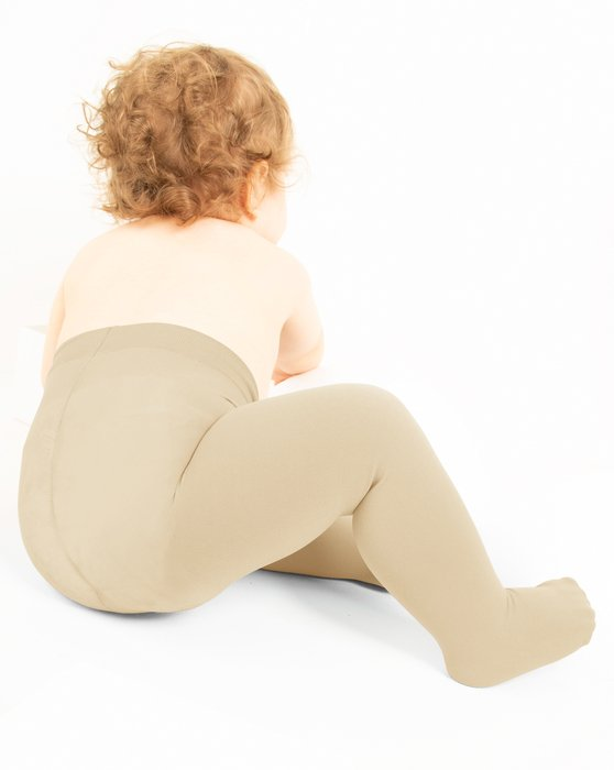 Light-Tan Kids Microfiber Tights Style# 1075 | We Love Colors