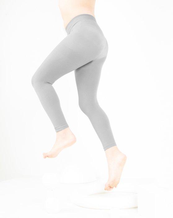 Grey Kids Microfiber Footless Tights Style# 1077 | We Love Colors