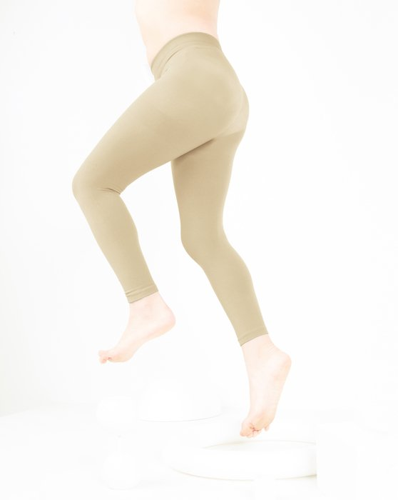 Light-Tan Kids Microfiber Footless Tights Style# 1077   We Love Colors