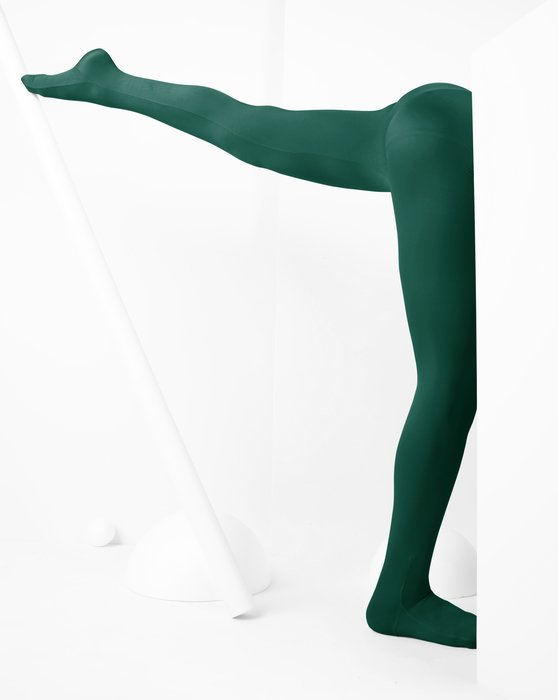 Hunter-Green Kids Performance Tights Style# 1081 | We Love Colors