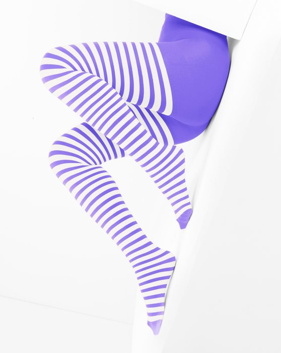 Womens White Striped Tights Style# 1203 | We Love Colors