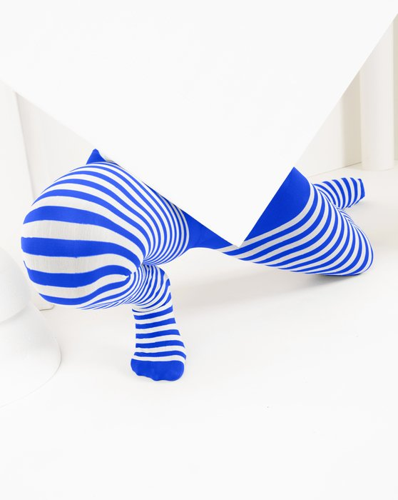 Royal Kids White Striped Tights Style# 1273 | We Love Colors