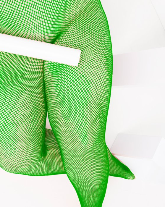 Kelly-Green Womens Nylon/Lycra Fishnets Style# 1401 | We Love Colors