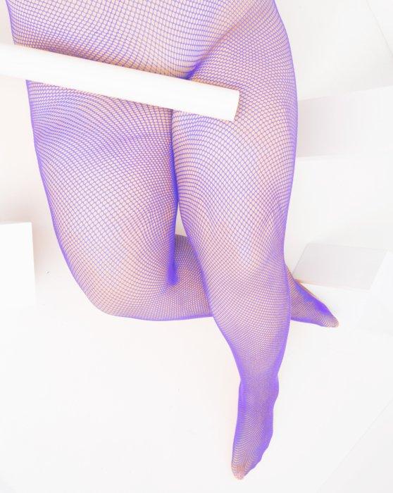 Lavender Womens Nylon/Lycra Fishnets Style# 1401 | We Love Colors