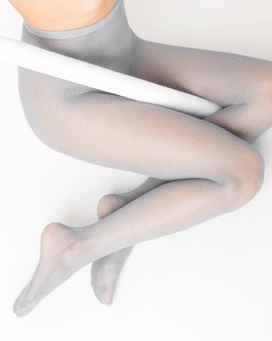 Grey Womens Nylon/Lycra Fishnets Style# 1401 | We Love Colors