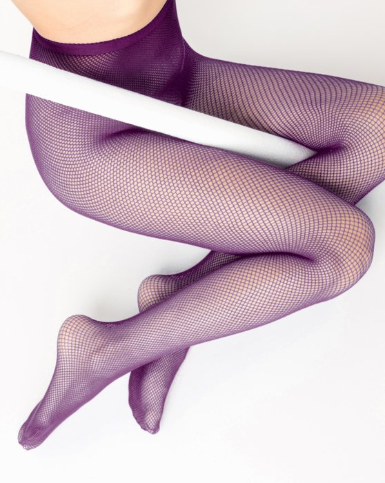Rubine Nylon/Lycra Fishnets Style# 1401 | We Love Colors