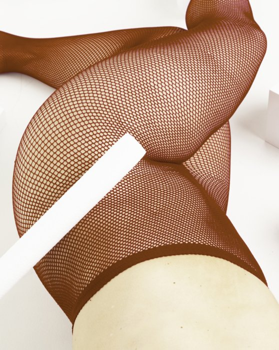 Rust Nylon/Lycra Fishnets Style# 1401 | We Love Colors