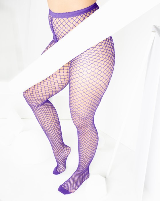 Lavender Wide Mesh Fishnet Pantyhose Style# 1403 | We Love Colors
